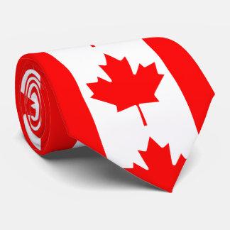 Feuille d'érable rouge du Canada Cravate