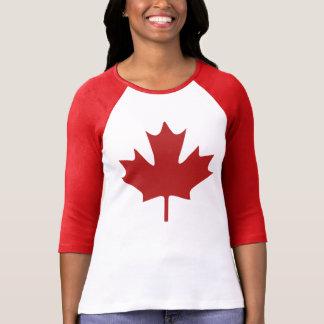 Feuille d'érable rouge t-shirts