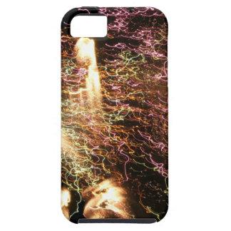Feux d'artifice multicolores de filets coques iPhone 5 Case-Mate