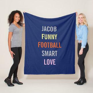 Few Of My Favorite Things Personal Fleece Blanket
