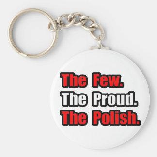Few Proud Polish Keychain