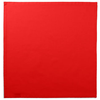 #FF0000 Hex Code Web Color Rich Bright Red Napkin