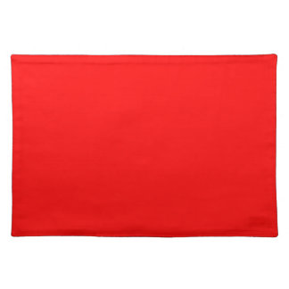 #FF0000 Hex Code Web Color Rich Bright Red Placemat