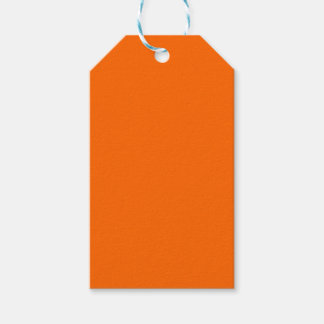 #FF6600 Hex Code Web Color Orange Gift Tags