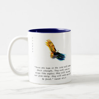 FFAPOV Isaiah 40:31 Eagle Mug (right-handed)