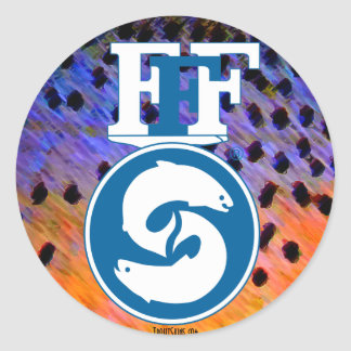 FFF Decals Round Sticker