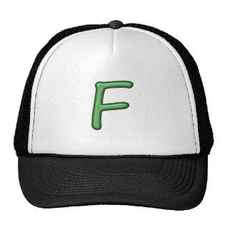 FFF F FF FEE ALPHABETS ALPHA JEWEL GIFTS TRUCKER HAT