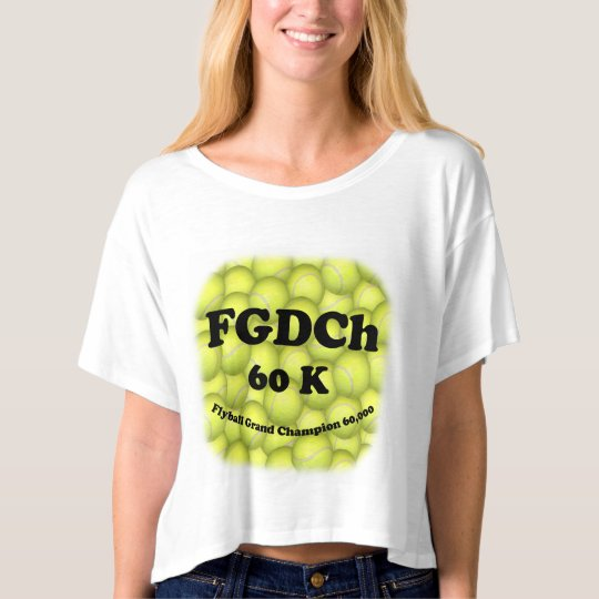 FGDCh 60K, Flyball Grand Champ, 60,000 Points T-shirt