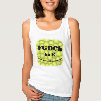FGDCh 60K, Flyball Grand Champ, 60,000 Points Tank Top