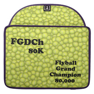 FGDCh 80 K, Flyball Grand Champ, 80,000 Points Sleeves For MacBooks