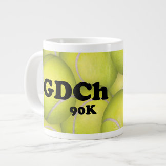 FGDCh 90 K, Flyball Grand Champ, 90,000 Points Large Coffee Mug