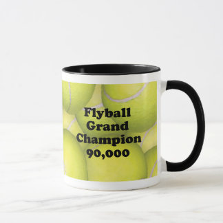FGDCh 90 K, Flyball Grand Champ, 90,000 Points Mug