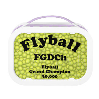 FGDCh, Flyball Grand Champ, 30,000 Points Lunch Box