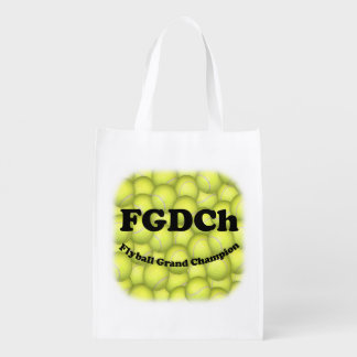 FGDCh, Flyball Grand Champ, 30,000 Points Market Tote