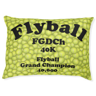 FGDCh, Flyball Grand Champ, 40,000 Points Large Dog Bed