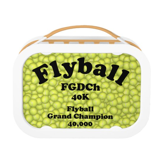 FGDCh, Flyball Grand Champ, 40,000 Points Lunchbox