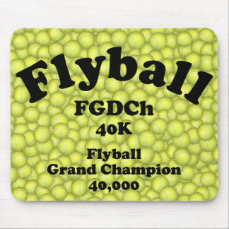 FGDCh, Flyball Grand Champ, 40,000 Points Mouse Pad