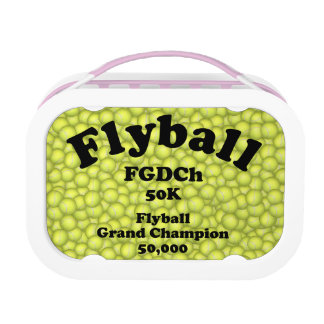 FGDCh, Flyball Grand Champ, 50,000 Points Lunch Box
