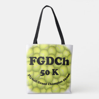 FGDCh, Flyball Grand Champ, 50,000 Points Tote Bag