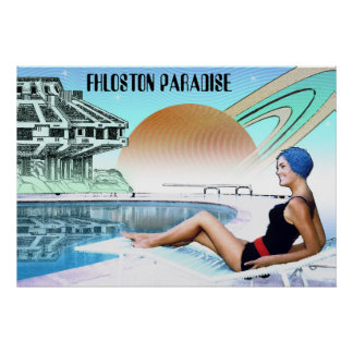 Fhloston Paradise ~ Interplanetary Travel Poster