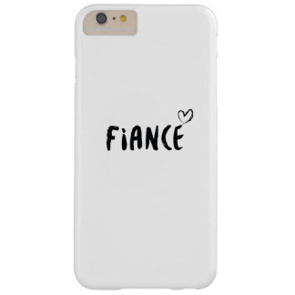 Fiance  Engaged  Wedding Married Gift Wedding Barely There iPhone 6 Plus Case