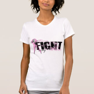 Fiance Hero - Fight Breast Cancer T Shirts