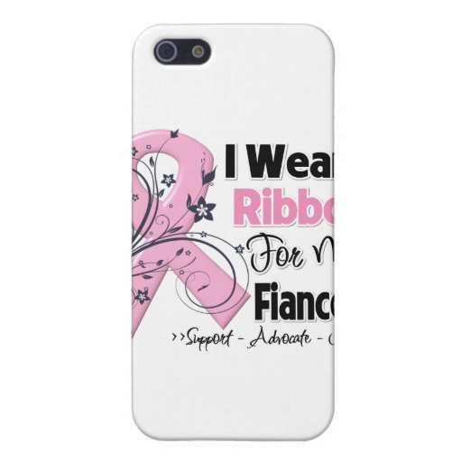 Fiancee - Breast Cancer Pink Ribbon Cases For iPhone 5