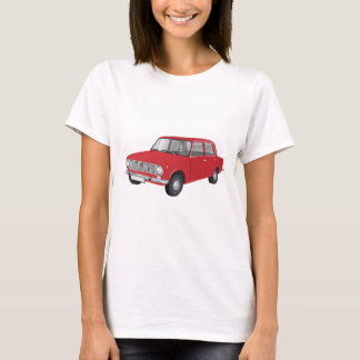 Fiat 124 red T-Shirt