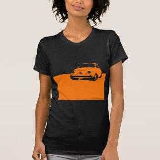Fiat 500, 1959 - Orange on dark shirt