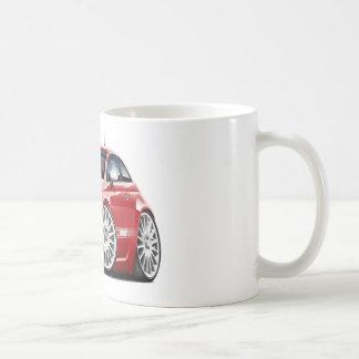 Fiat 500 Abarth Red Car Coffee Mug