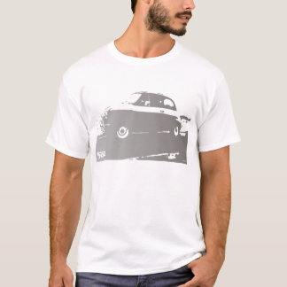 Fiat 500 Argento - silver on light T-Shirt
