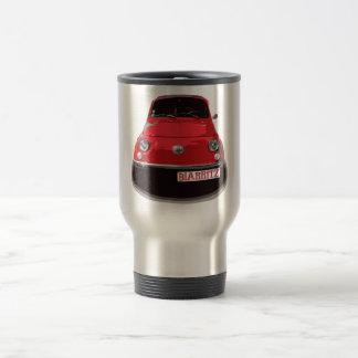 Fiat 500 Biarritz Travel Mug