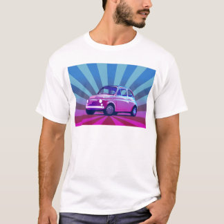 Fiat 500 Bunt T-Shirt