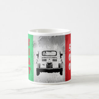 Fiat 500, Cinqucento, in Rome, Italy Coffee Mug
