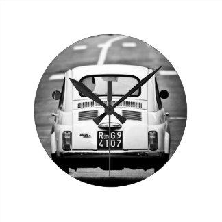 Fiat 500, Cinquecento, in Rome, Clock