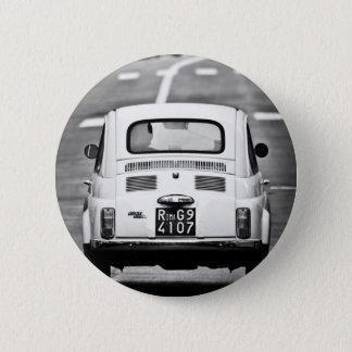 Fiat 500 in Rome 2 Inch Round Button