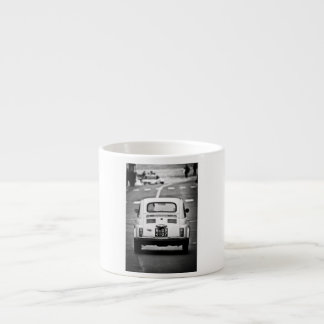 Fiat 500 in Rome Espresso Mug