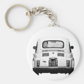 Fiat 500 in Rome, Italy. Keychain
