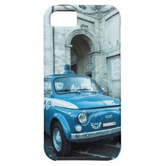 Fiat 500 police car, retro in Italy Iphone 5 case