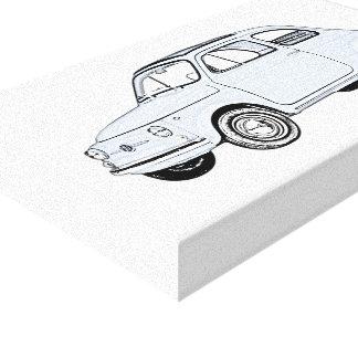 Fiat 500 Topolino Canvas Print