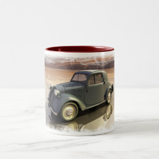 Fiat 500 Topolino topolino Two-Tone Coffee Mug