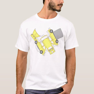 Fiat 500 Yellow T-Shirt