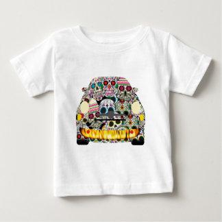 Fiat Abarth SuGar Skulls Baby T-Shirt