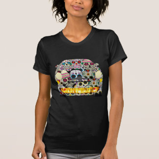 Fiat Abarth SuGar Skulls T-Shirt