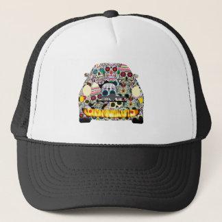 Fiat Abarth SuGar Skulls Trucker Hat