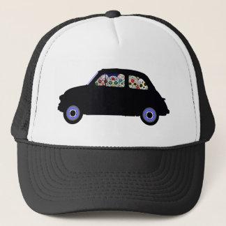 Fiat Filled With Sugar Skulls Trucker Hat