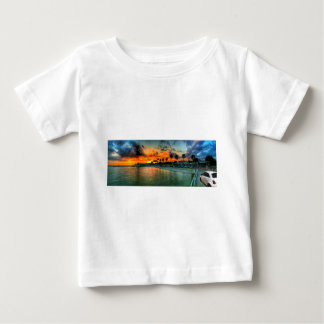 Fiat on A Pier Baby T-Shirt