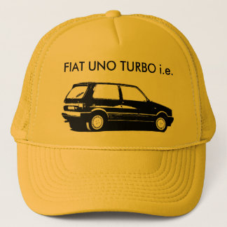 FIAT UNO TURBO TRUCKER HAT
