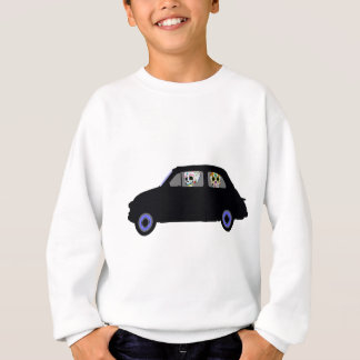 Fiat With 2 Sugar Skulls Watching You Sweatshirt