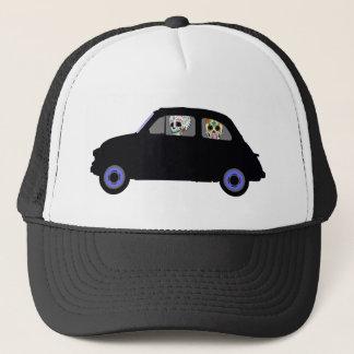 Fiat With 2 Sugar Skulls Watching You Trucker Hat